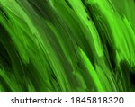 abstract black and bright green ...