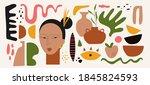 modern abstract elements set ... | Shutterstock .eps vector #1845824593