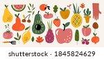 modern abstract elements set ... | Shutterstock .eps vector #1845824629