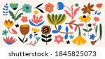 modern abstract elements set ...   Shutterstock .eps vector #1845825073