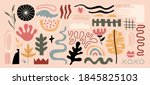 modern abstract elements set ... | Shutterstock .eps vector #1845825103
