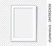 vector frame template. white... | Shutterstock .eps vector #1845832636