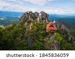 Floating Pagoda On Peak Of...