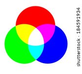 rgb color ring | Shutterstock . vector #184591934