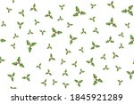 christmas holly berries... | Shutterstock .eps vector #1845921289