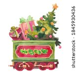 Santa Express Carriage With A...