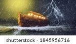Noah's Ark 3d Illustration...