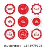 price tag collection vector... | Shutterstock .eps vector #1845979303