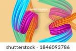 color brushstroke oil or... | Shutterstock .eps vector #1846093786