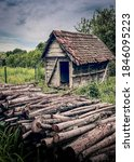 Old Wooden Shed Used To Store...