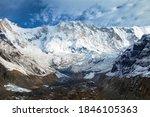 Mount Annapurna From Annapurna...