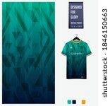 fabric pattern design.... | Shutterstock .eps vector #1846150663
