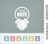 agreement for votes | Shutterstock .eps vector #184620104