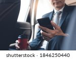 asian businessman using mobile...   Shutterstock . vector #1846250440