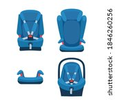 safety baby car seats... | Shutterstock .eps vector #1846260256