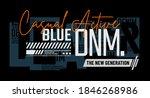 blue denim  modern and stylish... | Shutterstock .eps vector #1846268986