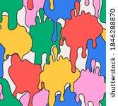 comic dripping blots background ... | Shutterstock .eps vector #1846288870