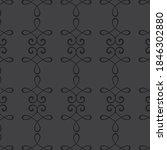 modern patterns in black color...   Shutterstock .eps vector #1846302880