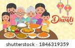 diwali   deepavali vector... | Shutterstock .eps vector #1846319359