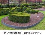 Bush Sculpture In Park   Durbuy ...