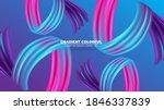 color brushstroke oil or... | Shutterstock .eps vector #1846337839