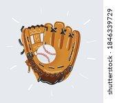 cartoon vector illustration of... | Shutterstock .eps vector #1846339729