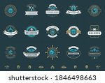 seafood logos or signs set... | Shutterstock .eps vector #1846498663