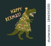 Tyrannosaurus Christmas Tree...