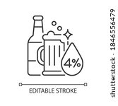 alcohol linear icon. beverage... | Shutterstock .eps vector #1846556479