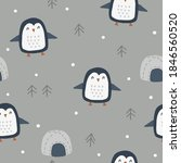 seamless vector pattern with... | Shutterstock .eps vector #1846560520