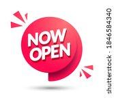 vector illustration now open... | Shutterstock .eps vector #1846584340