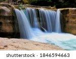 Beautiful Waterfalls Landscape...