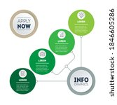 infographic of green technology ...   Shutterstock .eps vector #1846605286