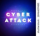 vector illustration cyber... | Shutterstock .eps vector #1846609480