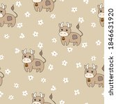 vector flat animals colorful... | Shutterstock .eps vector #1846631920