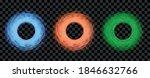 magic round portal set.... | Shutterstock .eps vector #1846632766