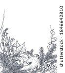 vector template for christmas... | Shutterstock .eps vector #1846642810