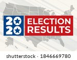 election results. united states ...   Shutterstock .eps vector #1846669780