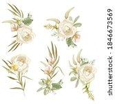 White Rose  Spring Garden...