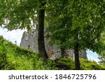 The Ruins Of Werdenfels Castle...
