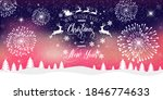 merry christmas and happy new... | Shutterstock .eps vector #1846774633