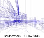 architecture design | Shutterstock . vector #184678838