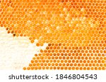 Honeycomb. Background Texture...