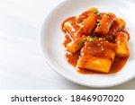 Korean Rice Cake Stick In Spicy ...