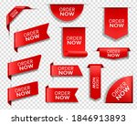order now red banners ... | Shutterstock .eps vector #1846913893