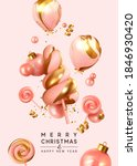 merry christmas and happy new... | Shutterstock .eps vector #1846930420
