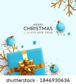 merry christmas and happy new... | Shutterstock .eps vector #1846930636