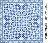 portuguese vintage azulejo...   Shutterstock .eps vector #1846940353