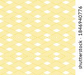 seamless pattern of rhombuses....   Shutterstock .eps vector #1846940776