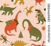 Dino Christmas Party Tree Rex....
